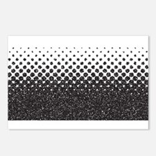 Half Tone Stippple Postcards (Package of 8)