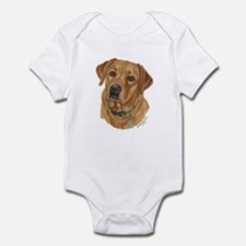 Fox Red Labrador Infant Creeper