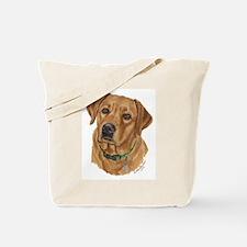 Fox Red Labrador Tote Bag