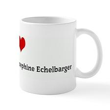 I Love Margaret Elizabeth Jos Mug