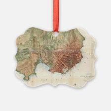 Cool San francisco map Ornament
