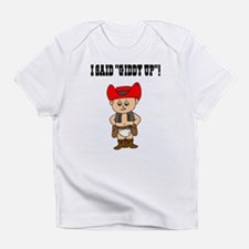 Funny Baby cowboy Infant T-Shirt