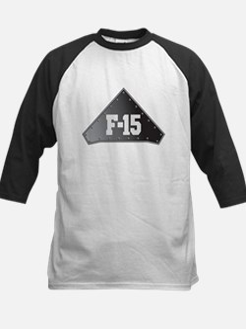 F-15 Fighter Kids Baseball Jersey