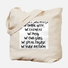 Funny Mohammed Tote Bag