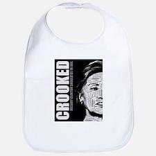Crooked Hillary Clinton Bib