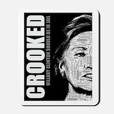 Crooked Hillary Clinton Mousepad