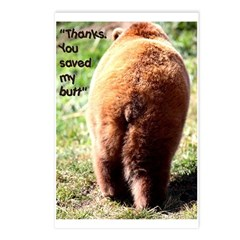 You Saved My Butt Postcards (Package of 8)