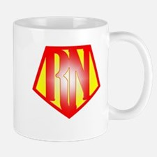 RN Superhero Mugs