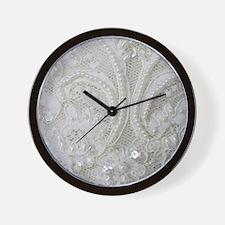 Cute Lace Wall Clock