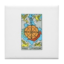 The Wheel of Fortune Tile Coaster