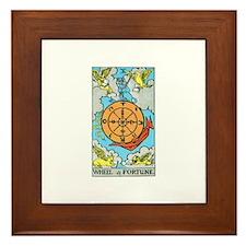The Wheel of Fortune Framed Tile