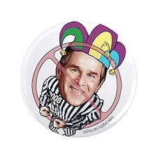 "Anti-Bush Fool 3.5"" Button"