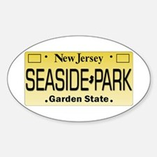 Seaside Park NJ Tag Giftware Decal