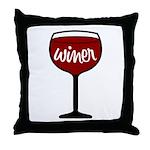 Winer Throw Pillow