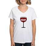 Winer Women's V-Neck T-Shirt