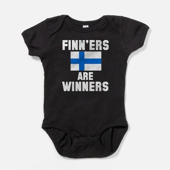 Finners are Winners Baby Bodysuit