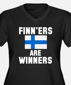 Finners are Winners Plus Size T-Shirt