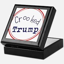 Crooked Trump Keepsake Box