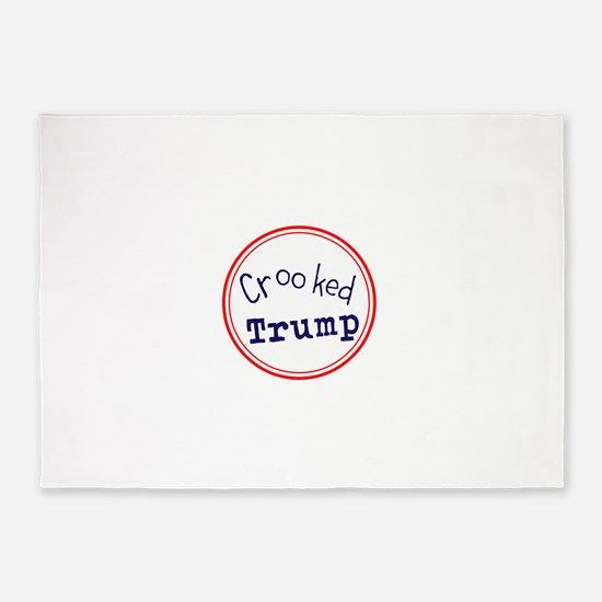 Crooked Trump 5'x7'Area Rug