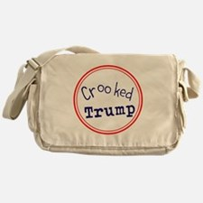Crooked Trump Messenger Bag
