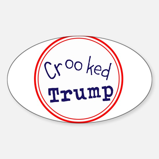 Crooked Trump Decal