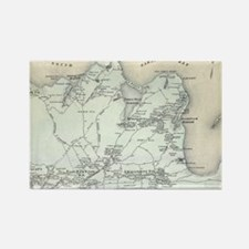 Cool Antique maps Rectangle Magnet