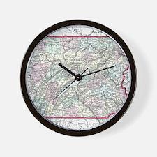 Cute Pennsylvania Wall Clock