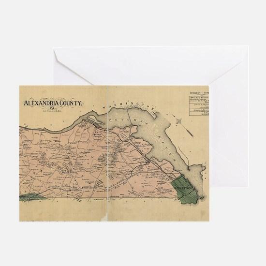Alexandria Greeting Card