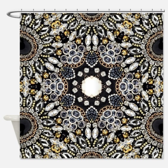 Tribal pattern Shower Curtain