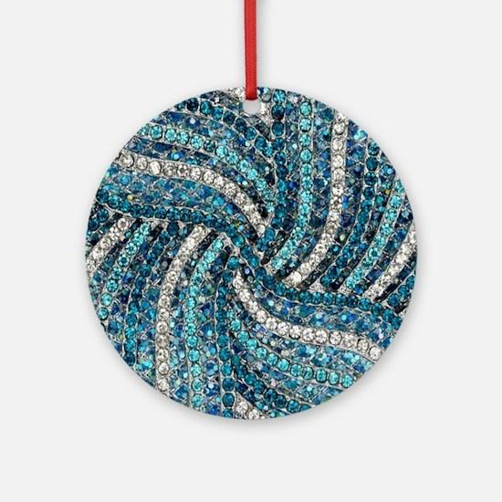 Unique Sparkle Round Ornament