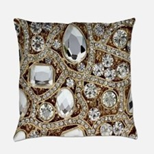 Funny Sparkly Everyday Pillow