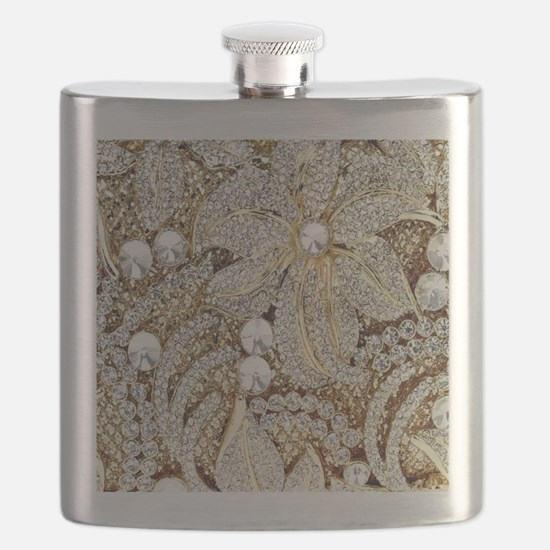 Unique Crystal Flask