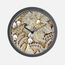 Unique Bling bling Wall Clock