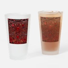 Rhinestone Drinking Glass
