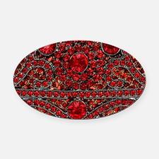 Cool Jewel Oval Car Magnet