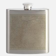 Funny Oregon love Flask
