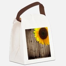 Cute Wedding flower Canvas Lunch Bag