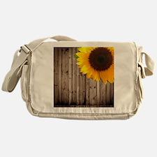 Funny Floral and botanical Messenger Bag