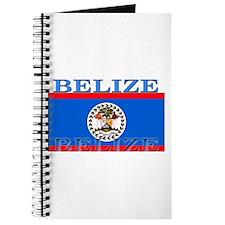 Belize Belizean Flag Journal