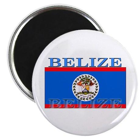 """Belize Belizean Flag 2.25"""" Magnet (100 pack)"""