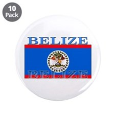 "Belize Belizean Flag 3.5"" Button (10 pack)"