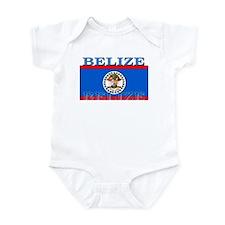 Belize Belizean Flag Infant Bodysuit