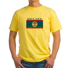 Belize Belizean Flag T