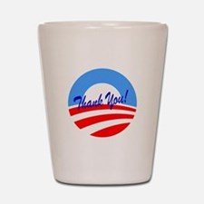 Thank You Obama Shot Glass