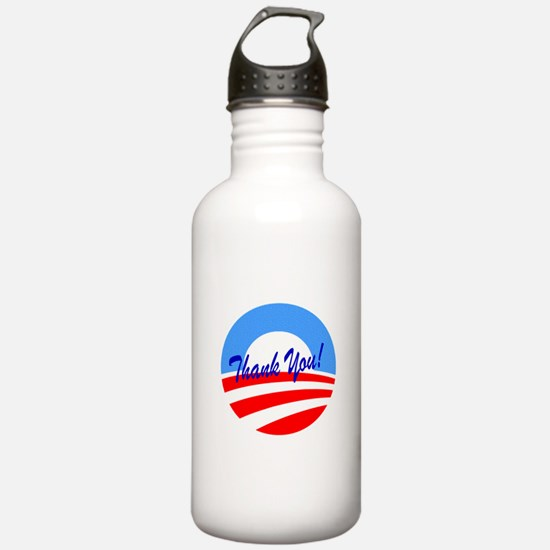 Thank You Obama Water Bottle