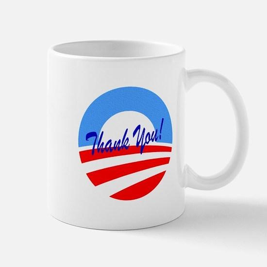 Thank You Obama Mugs