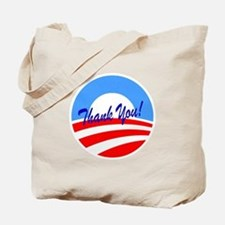 Thank You Obama Tote Bag