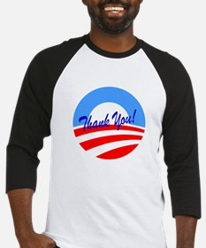 Thank You Obama Baseball Jersey