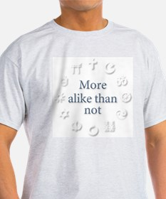 Interfaith/Multifaith More-alike T-Shirt
