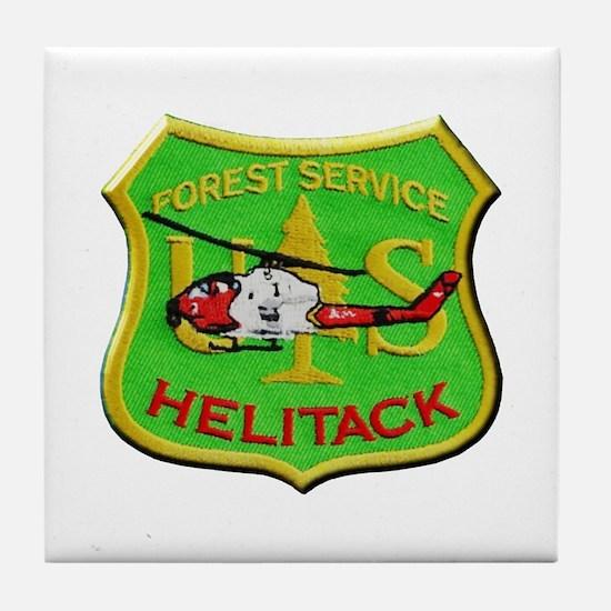 Forest Service Helitack Tile Coaster
